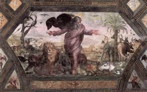 Raffaello_Sanzio_-_The_Creation_of_the_Animals_-_WGA18832