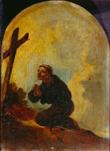 Bourgeois,_Sir_Peter_Francis_-_Friar_in_Prayer_-_Google_Art_Project