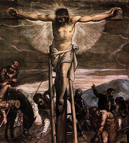 Jacopo_Tintoretto_-_Crucifixion_(detail)_-_WGA22517