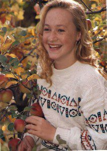 Dolezal at age 16 (From The Guardian)