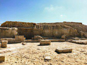 Elijah's Hill with John the Baptist's Cave below