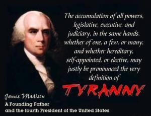 James Madfison - Tyranny