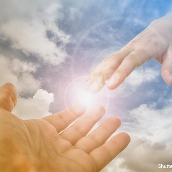 Faith-God-reaching