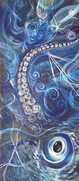 Water Element, painting by the author