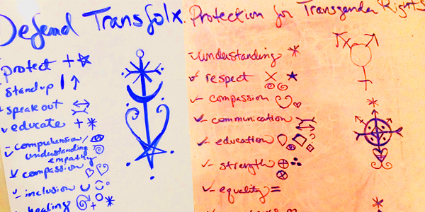 Sigils for Defending Transfolx and Protecting Rights | Laura Tempest