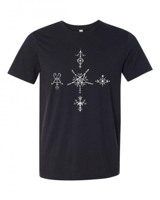 Quintisigil Shirt Collaboration with Little Black Egg