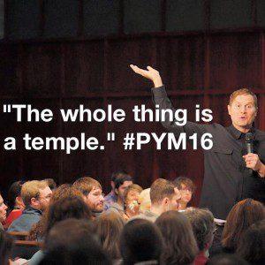 Rob Bell at PYM16