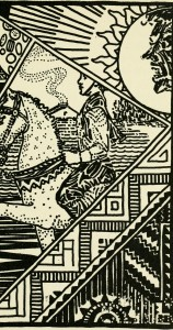 Illustration from Mighty Mikko; a book of Finnish fairy tales and folktales (1922), from Wikimedia Commons