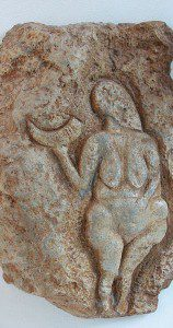 While we're at it, let's talk about which traits are considered so unmistakably female that they cause us to instantly recognize millennia-old female figures (whether accurately or not, we have no idea, because there's nobody around to ask). Thanks to Wikimedia for this public-domain image of the Venus of Laussel.