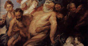 One last Rubens painting to round out this post series, this one of the drunken Silenus. Image in public domain.