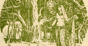 From Indian Myth and Legend, published in 1913 (hence in public domain).