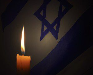 Photo of a Holocaust Remembrance Candle from Wikimedia Commons. Under Creative Commons license.