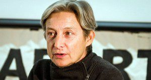 Creative Commons image of Judith Butler. From Wikimedia Commons.