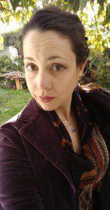 A Berkeley selfie, in a velvet blazer, because I can.