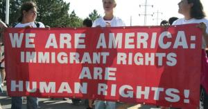 From  the Immigrant Rights March, documented on Wikimedia Commons (in public domain).