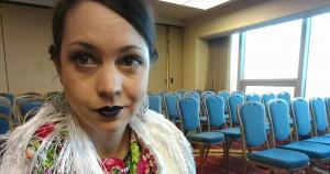 Selfie from AFS (my fave folklore conference).