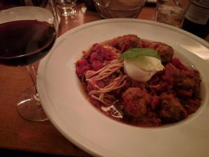 Meatballs with burrata? Hell yeah!