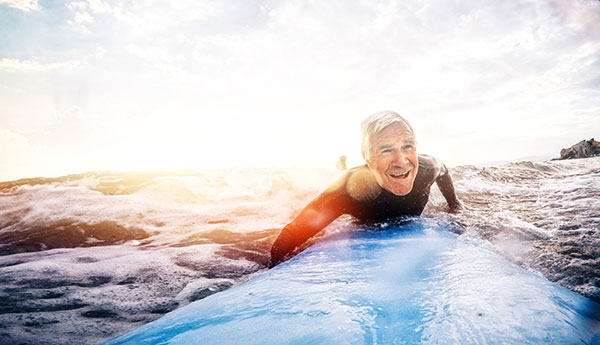 surfing senior