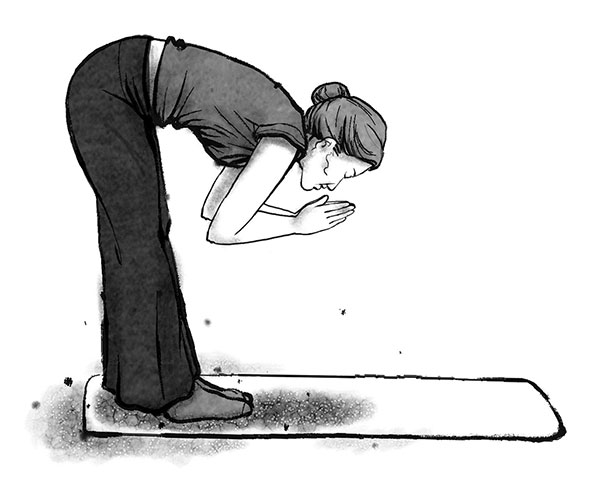 Bowing Step 4