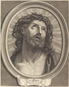 Robert Nanteuil (French, 1623 - 1678 ), Ecce Homo, 1653, engraving, Rosenwald Collection 1943.3.6435