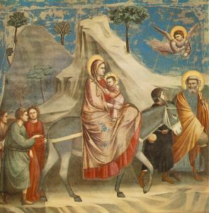 Giotto_-_Scrovegni_-_-20-_-_Flight_into_Egypt
