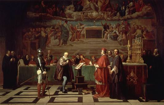 The inquisition cometh: Galileo before his questioners