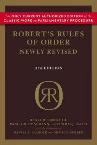 roberts rules of order GC2016