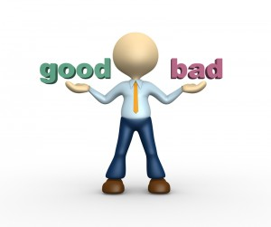 good or bad person