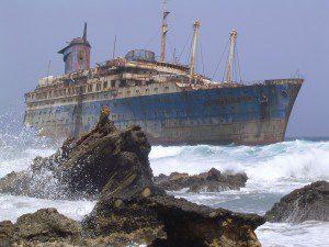The shipwrecked United Methodist Church