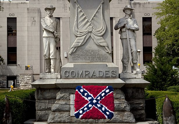 The confederacy was all about slavery, not state's rights