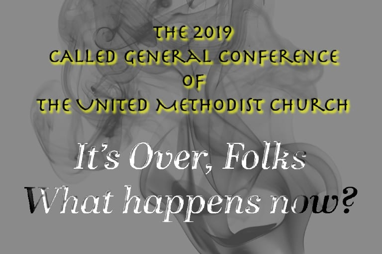 "We are now ""The United Methodist Church that hates gays"""