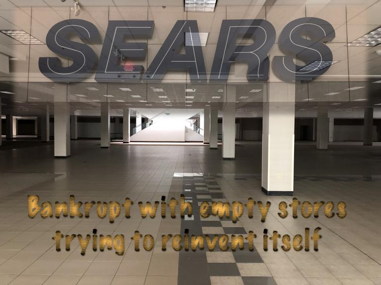 Sears: bankrupt, looking for Easter