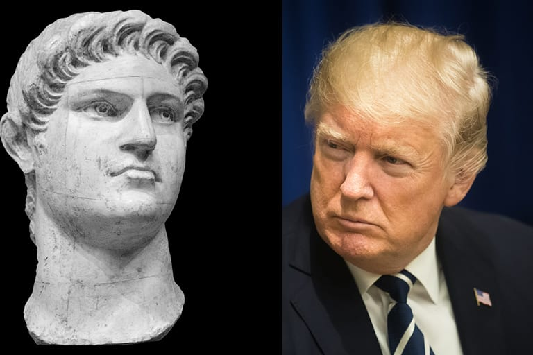 Nero Fiddled and Trump Tweeted