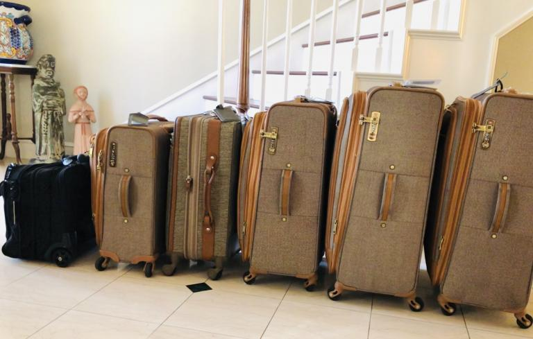 Let your yes be yes. Even with all these suitcases, we had too much to bring home