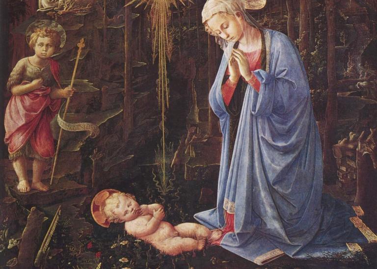 """Fra Filippo Lippi, """"The Nativity,"""" ca. 1459"""
