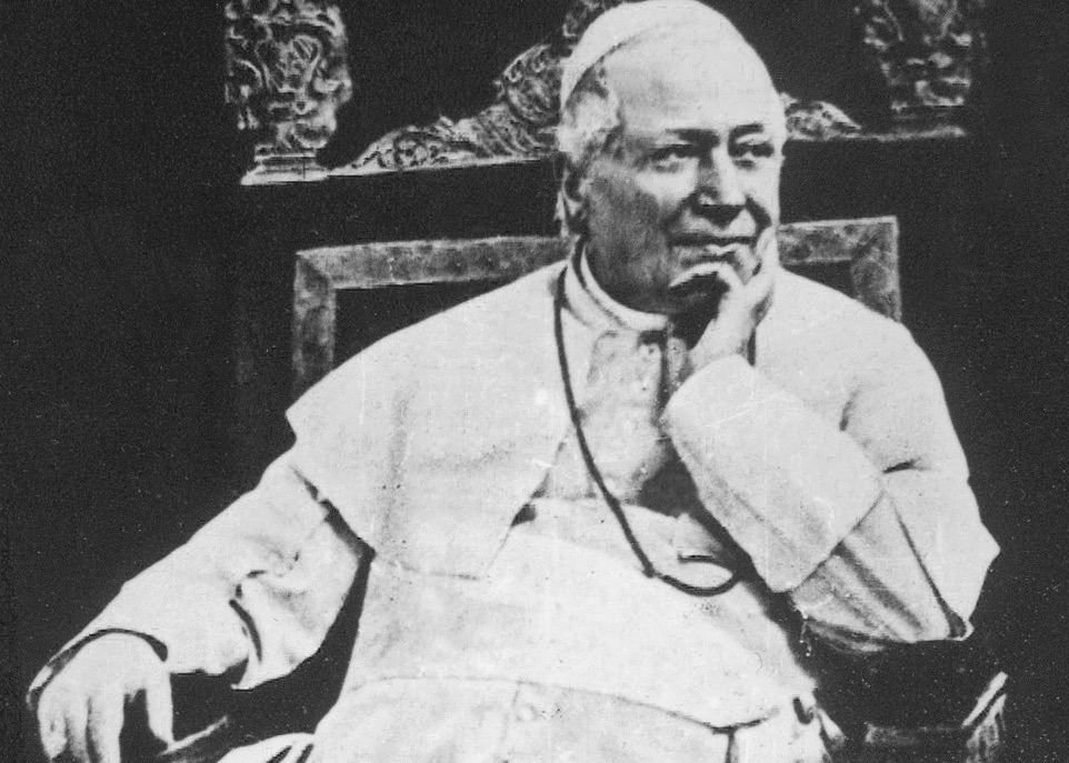 Pope Pius IX is unimpressed by fake quotations (public domain)