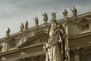 San-Pietro-Statue