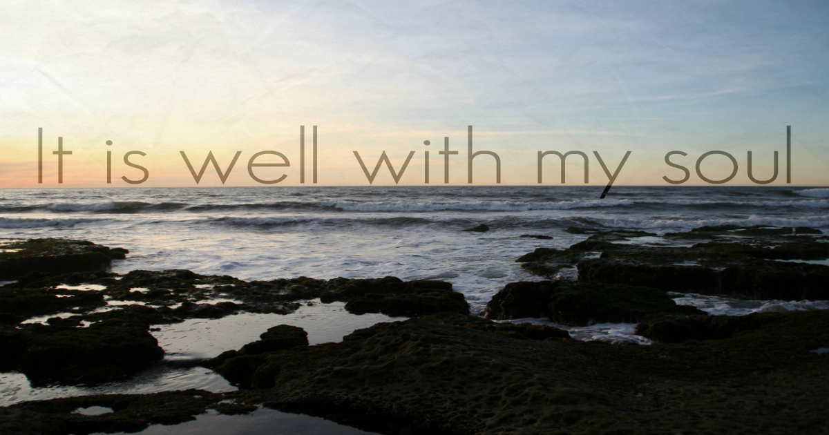 "The Curious Theology Behind The Hymn ""It Is Well With My"