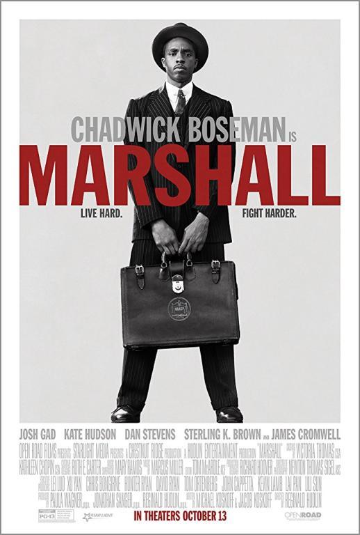 Marshall (2017) Movie Poster