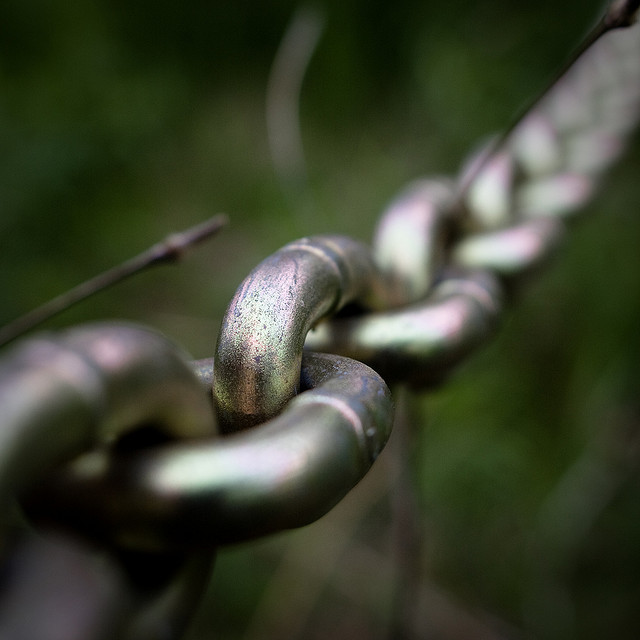 Image Source: Chain Chain Chains by Rick Harris; CC 2.0