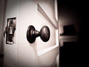 Open door, photo by Brad Montgomery