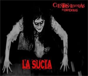 """From """"Cuentos y Leyendas de Honduras"""", an image of """"La Sucia"""""""