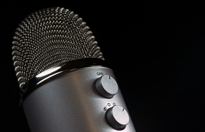 It'd be nice to see more diverse voices at late night talk show microphones. Image credit: Pixabay.
