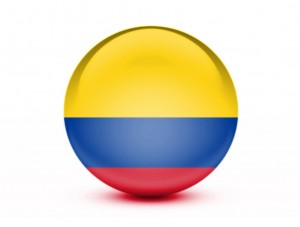 I couldn't find any super awesome images for this one so here have Colombia's flag on a sphere.