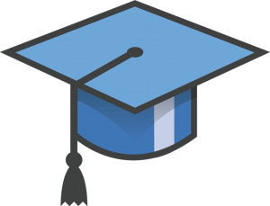 I don't have a lot of pictures from my graduation so here have this hat instead. Also: this hat's simplicity tells me it has plans just like I do. Image credit: pixabay.