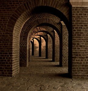 "I went onto a stock image site and found this image of a tunnel by typing in ""public history"" so here you go."