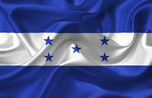 You'll see this as a thumbnail a lot but here's Honduras's flag. Keep it mind whenever you think about Honduras's election.