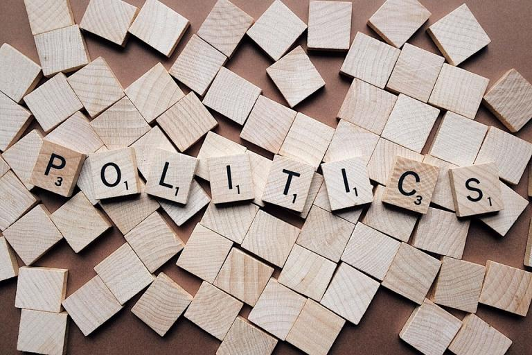 Politics is in fact pretty political. Image credit goes to Pixabay.