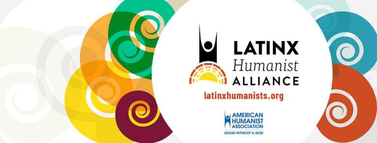 Here is one of the gorgeous works of art you can find if you search for the Latinx Humanist Alliance online.