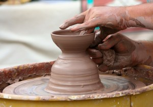 Potters Wheel by James DeMers